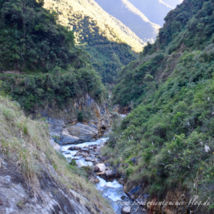 Salkantay Trekking Lucmabamba Hot springs blog