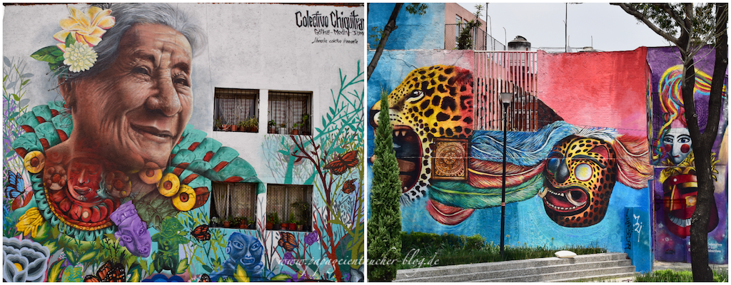 Collage murales mexico city