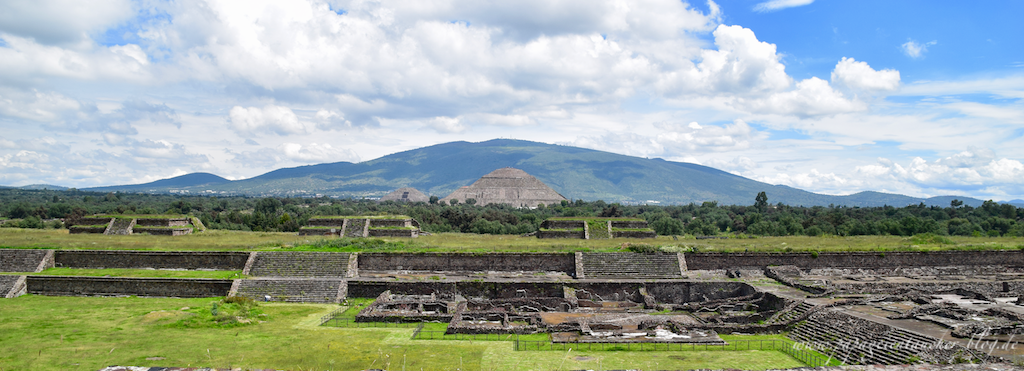 Teotihuacan Anlage Mexico
