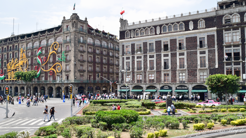 Zocalo Mexico City 2