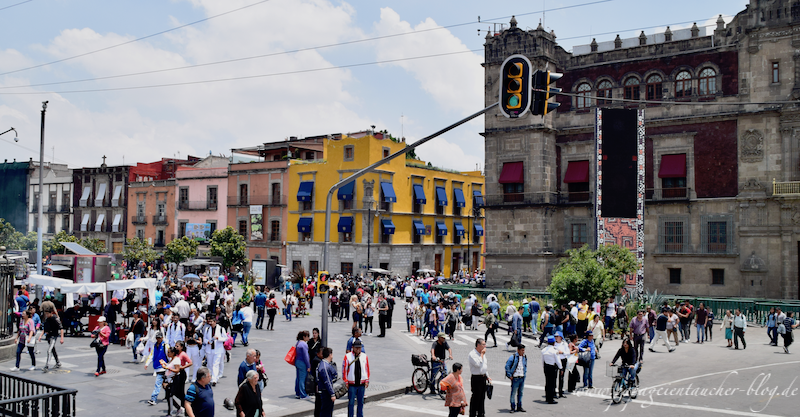 Zocalo Mexico City 3