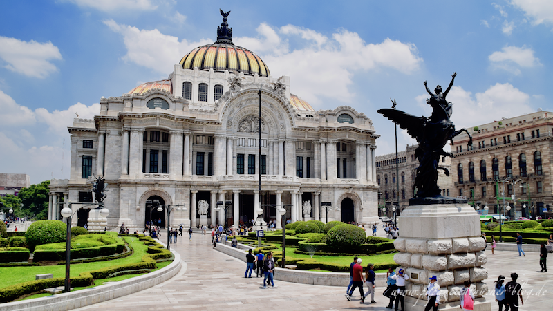 Mexico City Bellas Artes Zentrum Innenstadt Blog